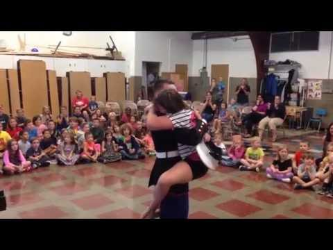 Kiera Richardson-Meattey hadn't seen her brother, PFC Kyle Meattey, since he left for the service last May. He came home and surprised her at the Gill Elementary School on Friday afternoon...