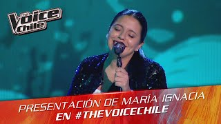 The Voice Chile | María Ignacia Gallardo - La Jardinera