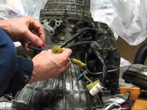 Toyota Camry A140e Transmission Solenoid Test Youtube