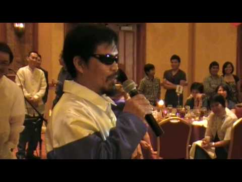 Manny Pacquiao PressCon Hi-Q video Part-2 by K6ZRH/Dandy