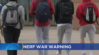 Prior Lake-Savage Schools 'Calling For A Stop To Nerf Wars'
