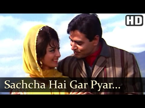 Sachcha Hai Gar - Rajendra Kumar - Saira Banu - Jhuk Gaya Aasman...
