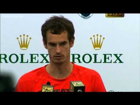 Murray Discusses Shanghai Loss To Djokovic