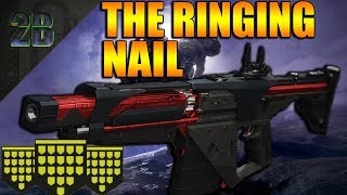 Destiny 2 | The Ringing Nail PvP Gameplay Review WE RAN OUT OF MEDALS | Black Armory DLC