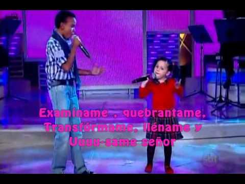 NIÑA SORPRENDE ! Milena y Jotta Usame SUBTITULADO al español