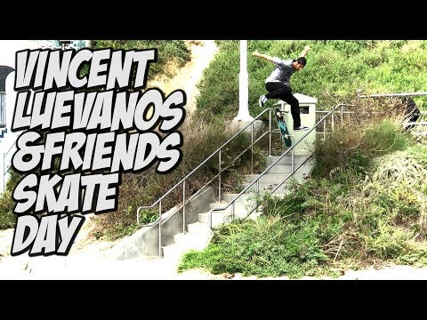 VINCENT LUEVANOS & FRIENDS KILL THE DAY SKATEBOARDING !!! - NKA VIDS