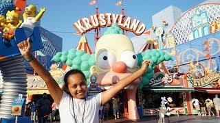 TIANA'S SURPRISE!! Universal Studios Theme Park Family Fun