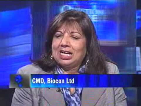 Started Biocon by accident: Kiran Shaw
