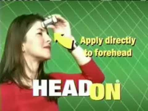 Three-Minute Long HeadOn Ad