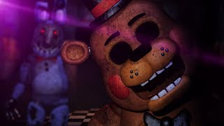 LOCKED IN A ROOM WITH ANIMATRONICS. || One Night At Freddy's 2 (ENDING)