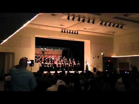Beattie Middle school choir