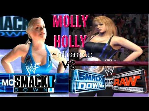 WWF SmackDown! Just Bring It vs WWE SmackDown! vs. Raw| Molly Holly Entrance thumbnail