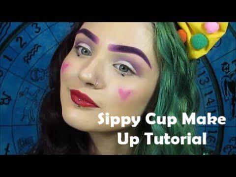melanie martinez 'sippy cup' make up tutorial
