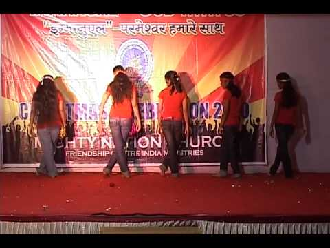 Hindi Christmas Carol Dance 7. By  Priscilla Orphanage Children Mumbai India video