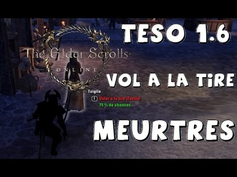 [TESO 1.6] SYSTEME DE JUSTICE : HORS-LA-LOI (OUTLAW) GAMEPLAY PTS
