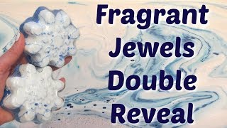 Fragrant Jewels DOUBLE Ring Reveal - One of a Kind Bath Bomb!