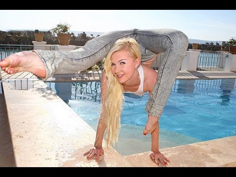 Worlds Most Flexible Girl – Julia Günthel