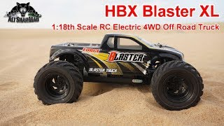 HBX Blaster Mini Electric RC 4WD Off Road Monster Truck
