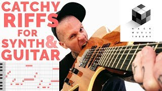 How to Write a Riff (or Melody) over a Chord Progression