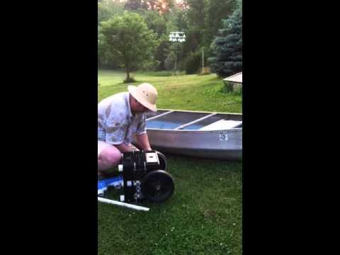Canoe kayak cart DIY
