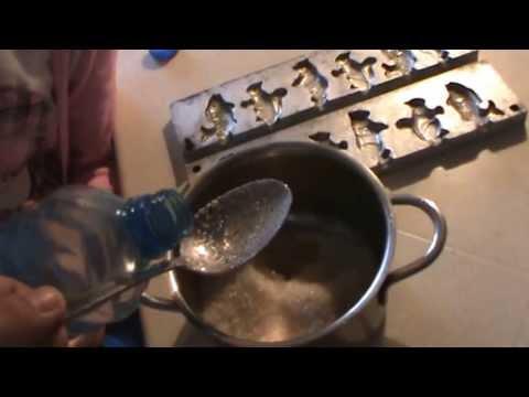 Как готовить конфеты - видео