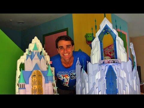 Disney's Frozen Elsa's Ice Palace Unboxing!    Disney Toy Reviews    Konas2002