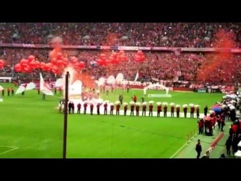 14.05.2016 - FC Bayern München Meisterfeier LIVE aus der Allianz Arena 2/2