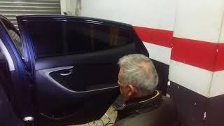 Desmontar puerta Hyundai Elantra / remove the door panel Hyndai
