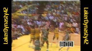 1985 NBA Finals, Gm 4: Larry Bird Dominates The 4th Quarter
