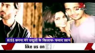 Pakistani actor Fawad Khan refuses to kiss onscree