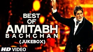 Best of Amitabh Bachchan Video Songs JukeBox