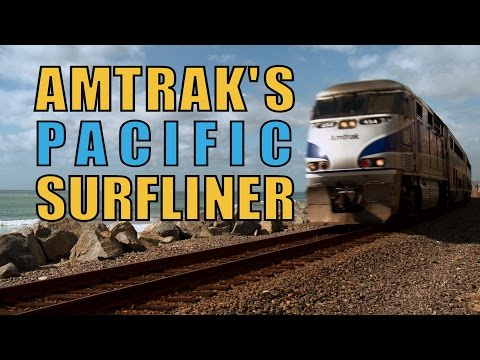 Amtrak's Pacific Surfliner - The Choo Choo Bob Show
