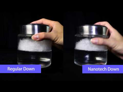 Nanotech Down Feather Promotion Video English