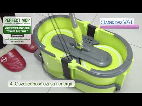 PERFECT MOP Obrotowy 360 Smart Spin Mop