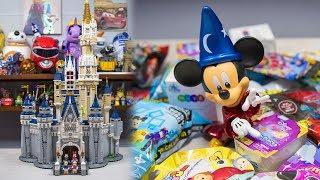 HUGE LEGO Disney Princess Cinderella Castle Toy Surprise Toys Blind Bags for Kids Kinder Playtime