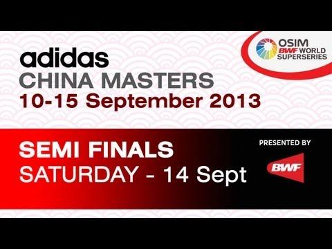 SF - MS - Wang Zhengming vs Jan O Jorgensen - 2013 Adidas China Masters