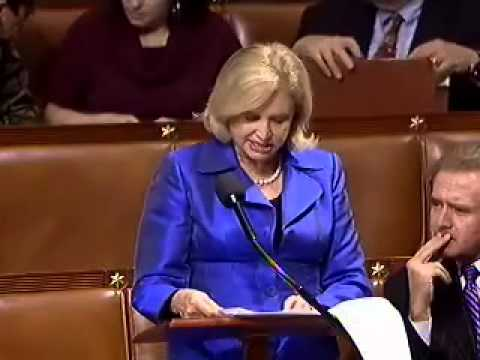 Rep. Carolyn Maloney speaks on proposed cuts to the National Endowment for the Arts