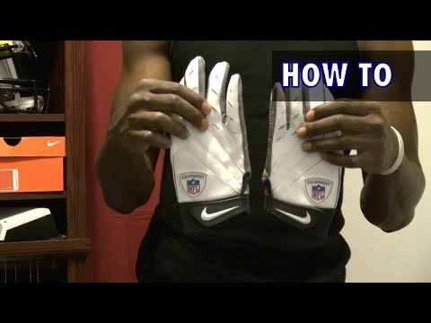 How to Wash Football Gloves - Football Tip Fridays