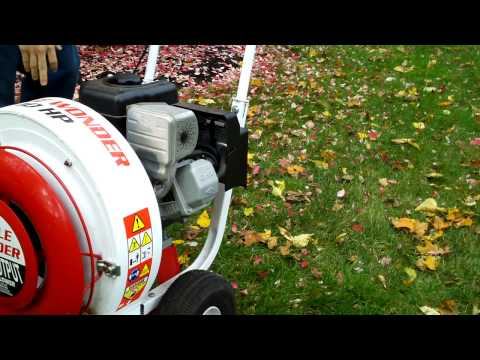 Little Wonder Leaf Blower Start