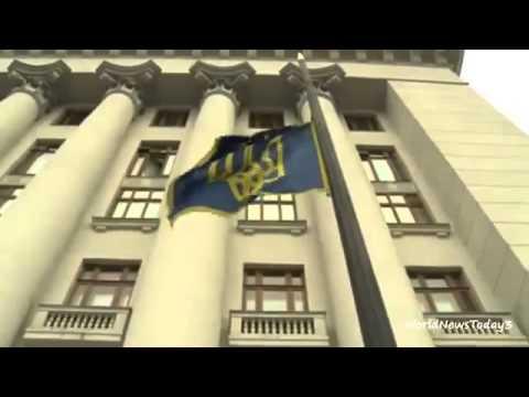 BBC News Activists guard Ukrainian presidential buildings