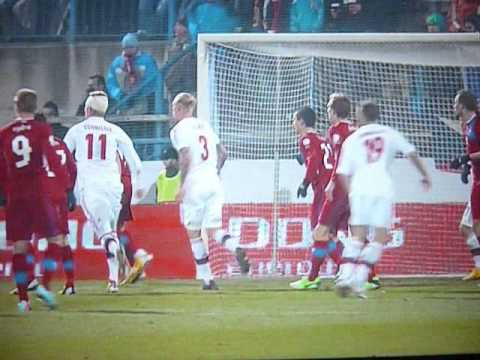 Czech Republic vs Denmark 0-3 All Goals (Tjekkiet Danmark 0-3) World Cup 2014 Qualifier