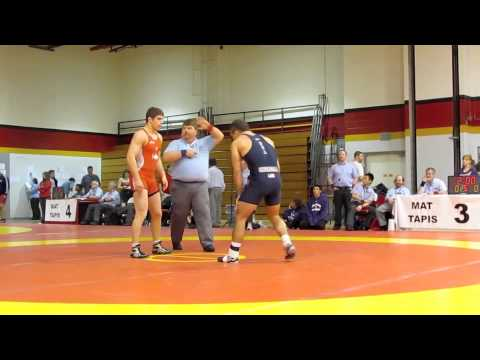 Guelph Open 2012: 66 kg Semi-Final Ilya Abelev vs. Josh Churella