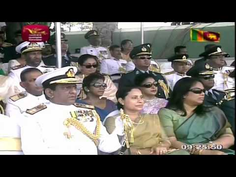4th Victory Day Celebrations Parade of Sri Lanka - 2013-05-18 (Live from Galle Face)