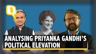 The Quint Analyses PriyankaGandhi's Elevation into Active Politics
