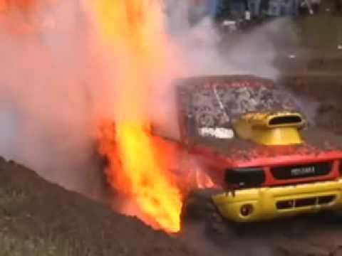 Mud Truck Fire