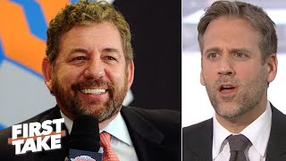 Max Kellerman reacts to James Dolan saying he won't sell the Knicks | First Take