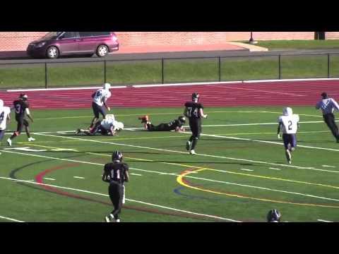 Brice McAllister Suffield Academy C/O 2014 Football Highlight Film