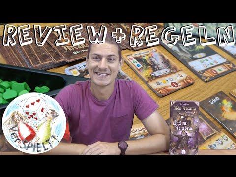 Res Arcana Lux et Tenebrae Erweiterung Review + Regeln, Sand Castle Games, Tom Lehmann
