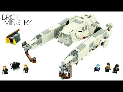LEGO Star Wars 75219 ● IMPERIAL AT HAULER [Speed Build]