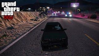 GTA 5 Roleplay - DOJ 147 - Street Drifting (Criminal)